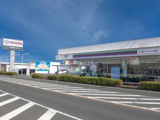 名古屋トヨペット 新城店の外観写真