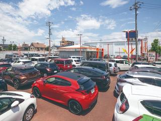 名古屋トヨペット オレンジタウン稲沢店の外観写真