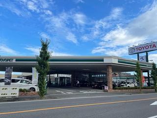 三重トヨペット 桑名江場店の外観写真
