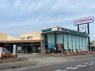 三重トヨペット 津栗真店の外観写真