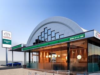 鹿児島トヨペット 姶良店の外観写真
