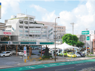 沖縄トヨペット 港川店の外観写真