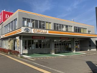 トヨタカローラ札幌 ジョイック白石の外観写真