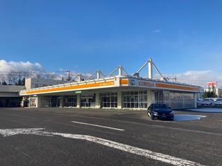 トヨタカローラ札幌 ジョイック千歳の外観写真