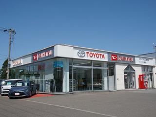 トヨタカローラ札幌 美唄店の外観写真