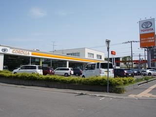 トヨタカローラ札幌 ジョイック美香保の外観写真