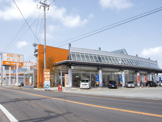 トヨタカローラ青森 柏店の外観写真
