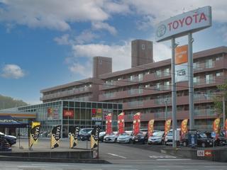 トヨタカローラ岩手 宮古店の外観写真