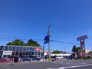 トヨタカローラ岩手 しわ店の外観写真