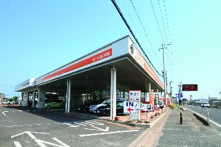トヨタカローラ宮城 岩沼店の外観写真