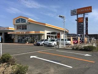 トヨタカローラ宮城 白石店の外観写真