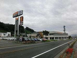 トヨタカローラ秋田 湯沢店の外観写真