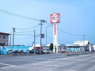 トヨタカローラ山形 寒河江店の外観写真