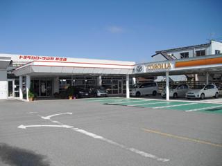 トヨタカローラ山形 新庄店の外観写真