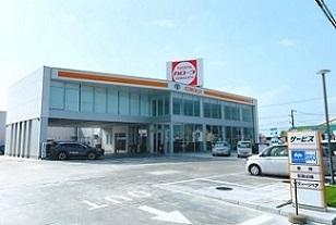 トヨタカローラ山形 鶴岡店の外観写真