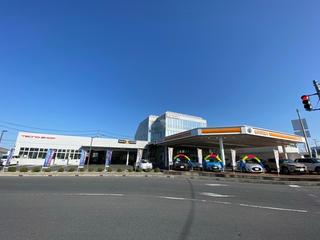 トヨタカローラ新茨城 水戸水府店の外観写真