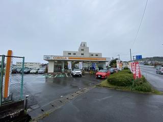 トヨタカローラ新茨城 日立滑川店の外観写真