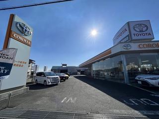 トヨタカローラ新茨城 美野里店の外観写真
