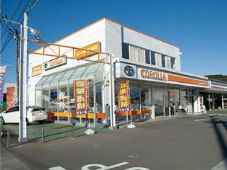 トヨタカローラ南茨城 潮来店の外観写真