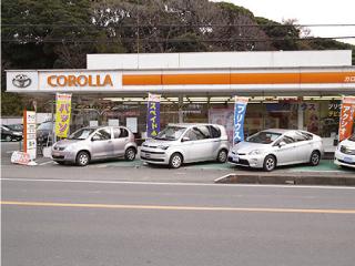 トヨタカローラ南茨城 稲敷店の外観写真
