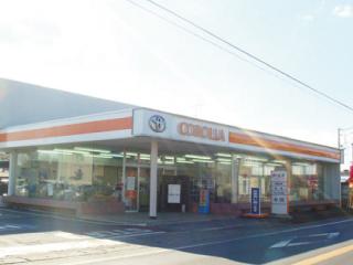 トヨタカローラ南茨城 坂東店の外観写真