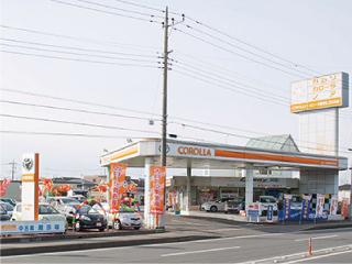 トヨタカローラ南茨城 荒川沖店の外観写真