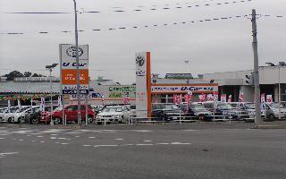 トヨタカローラ栃木 U-Car川田店の外観写真