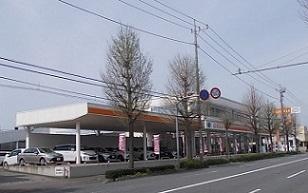 トヨタカローラ群馬 前橋西片貝店の外観写真