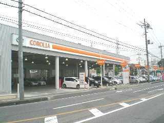 トヨタカローラ群馬 太田西本町店の外観写真
