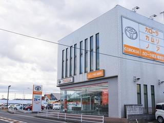 トヨタカローラ埼玉 篭原店の外観写真
