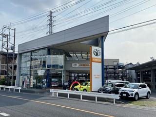 トヨタカローラ埼玉 北越谷店の外観写真
