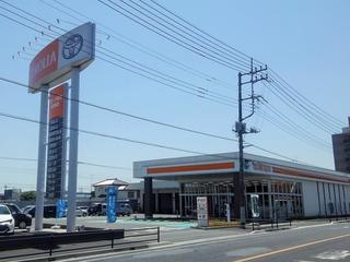 トヨタカローラ埼玉 幸手東店の外観写真