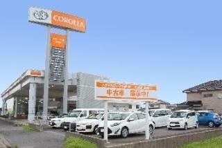 トヨタカローラ千葉 小見川店U-Car展示場の外観写真