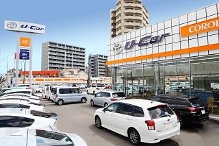 トヨタカローラ千葉 船橋北口マイカーセンターの外観写真