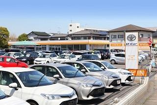 トヨタカローラ千葉 八幡マイカーセンターの外観写真