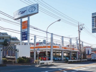トヨタカローラ神奈川 大船マイカーセンターの外観写真
