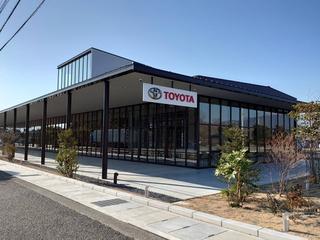 トヨタカローラ山梨 甲斐アルプス店の外観写真