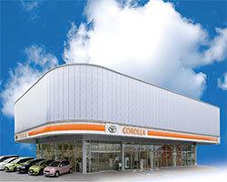トヨタカローラ山梨 甲府UーCar店の外観写真