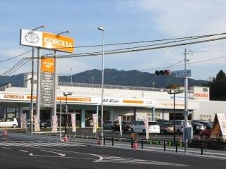 トヨタカローラ岐阜 恵那店の外観写真
