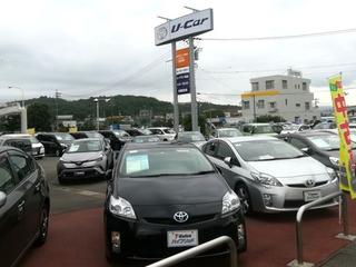 トヨタカローラ岐阜 U-Car多治見店の外観写真