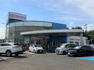 トヨタカローラ中京 阿久比店の外観写真