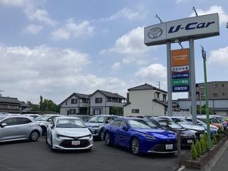 トヨタカローラ名古屋 U-Car刈谷の外観写真