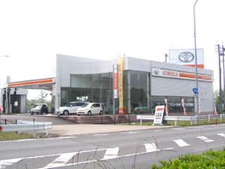 トヨタカローラ愛豊 高蔵寺店の外観写真