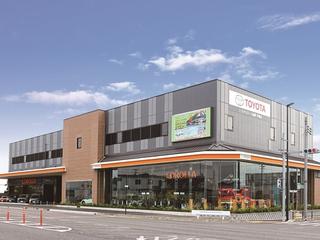 トヨタカローラ滋賀 甲賀店の外観写真