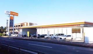 トヨタカローラ滋賀 八日市店の外観写真
