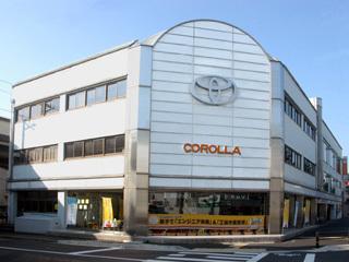 トヨタカローラ京都 円町店の外観写真