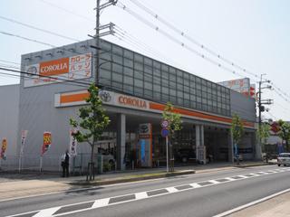 トヨタカローラ京都 乙訓店の外観写真