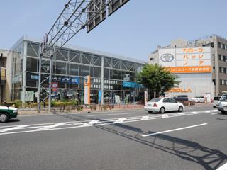 トヨタカローラ京都 吉祥院店の外観写真