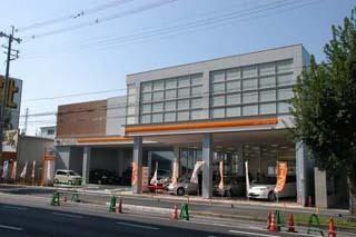 トヨタカローラ京都 伏見店の外観写真