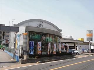 トヨタカローラ京都 宇治店の外観写真